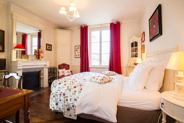 Beige Zimmer (Chambre Beige) - Le Prieuré Saint Agnan